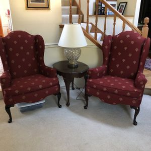 Ethan Allen Wingback Chairs for Sale in Renton, WA