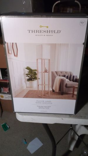 Threshold- floor lamp with shelves for Sale in Compton, CA