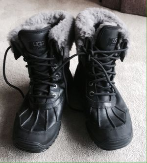UGG Adirondack Boots, Black, Sz 8 for Sale, used for sale  New York, NY