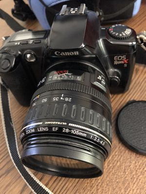Sony EOS Rebel XS camera 35mm and zoom lens not digital for Sale in Acworth, GA