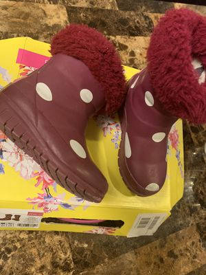 Joules rain boots for Sale in Boston, MA