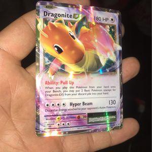 Pokemon Card Dragonite EX for Sale in Redlands, CA