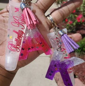 Lip gloss and key chains for Sale in Longview, TX