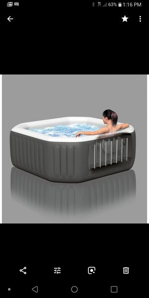 Portable spa was 400.00 at wall mart only used one time for Sale in Millbrook, AL