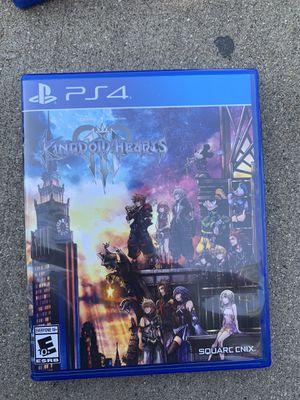 Kingdom Hearts 3 for Sale in Chula Vista, CA
