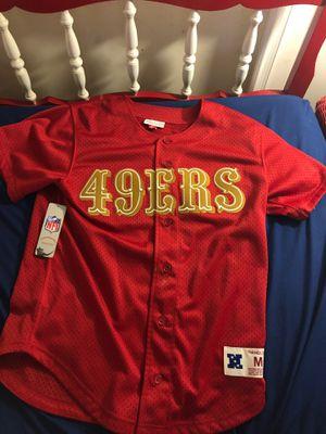49ers duper bowl baseball jersey for Sale in Wilmington, DE