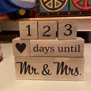 Wedding Countdown Blocks for Sale in Des Plaines, IL