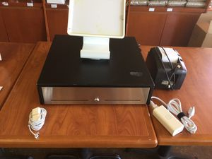 Register, square stand and printer for Sale in Phoenix, AZ