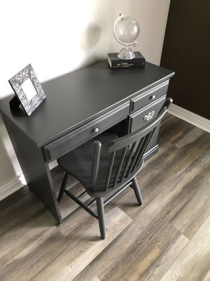 Redesigned Desk/Vanity with Chair for Sale in Homer Glen, IL