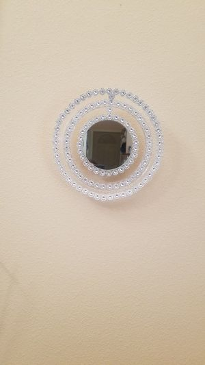 Wall mirror deco with lights and remote for Sale in Las Vegas, NV
