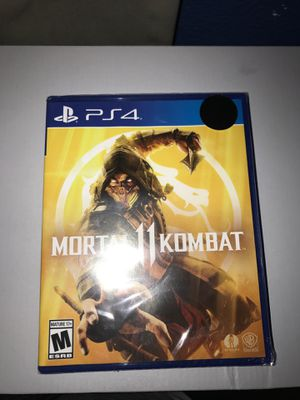 Mortal Kombat 11 (PS4) for Sale in DeSoto, TX