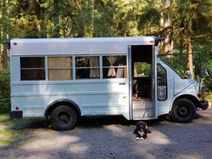 Skoolie! Partially converted short school bus for Sale in Seattle, WA