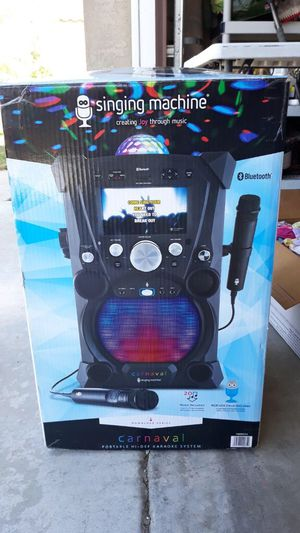 Karaoke machine for Sale in Moreno Valley, CA