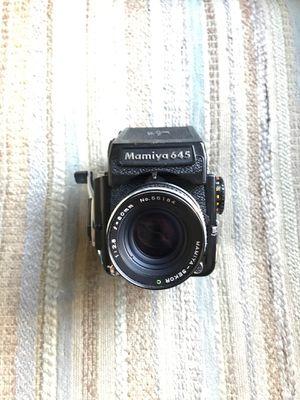 mamiya 645 1000s film camera for Sale in HUNTINGTN BCH, CA