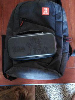 Nintendo Switch Backpack & ZELDA Switch Hard Case for Sale in Everett,  WA
