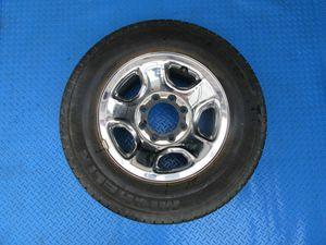 "17"" Dodge Ram 1500 2500 3500 SRW 8 lug steel chrome clad rim wheel tire #6311 for Sale in Hallandale Beach, FL"