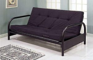 Black futon with futon mattress (new) for Sale in San Francisco, CA