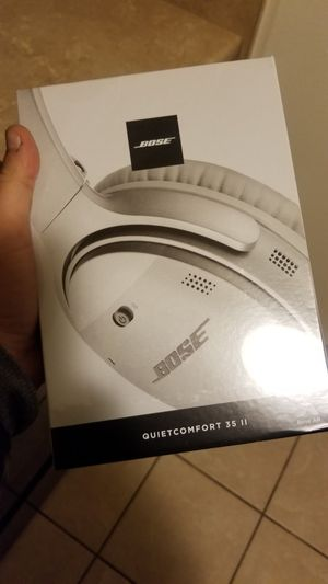 - Bose Quiet Comfort 35 ii - Bluetooth and Cordless for Sale in Vernon, WI