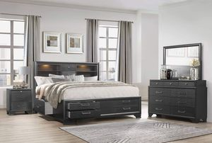 DRAWERS 5 pcs Queen Bedroom Set, only 1479$ Stay Home Sale #newarrival for Sale in The Bronx, NY