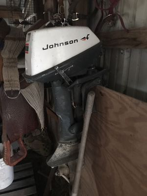 1971 6 hp Johnson for Sale in Fairland, OK