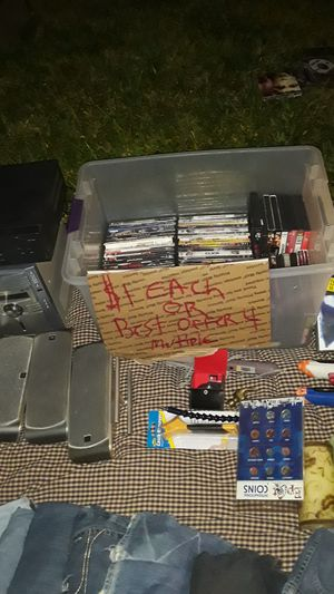 DVDs $1 each or best offer for mutiple for Sale in Pompano Beach, FL