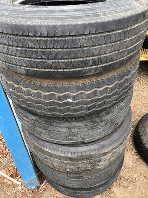235 80 85 16 G RATED!!!! Trailer tires! for Sale in El Cajon, CA
