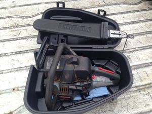 """Craftsman 40cc chainsaw with 18"""" bar for Sale in Chicago, IL"""