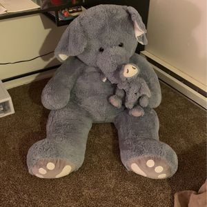 Large elephant stuffed animal for Sale in Portland, OR