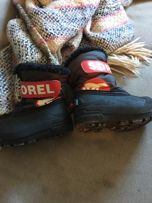 Sorel Kids Snow Boots Size 7 for Sale in Falls Church, VA