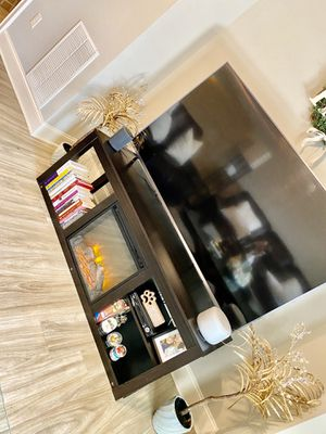 Tv Stand With Fireplace for Sale in Pensacola, FL