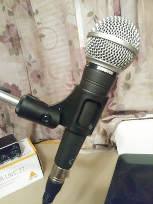 Shure microphone for Sale in Eau Claire, WI