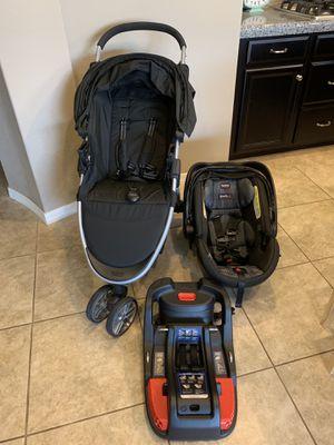 Britax Travel System Infant Car Seat, Car Seat Base, Stroller for Sale in Queen Creek, AZ