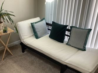 Sofa- Bed With Wooden Adjustable Stand for Sale in Aurora,  CO