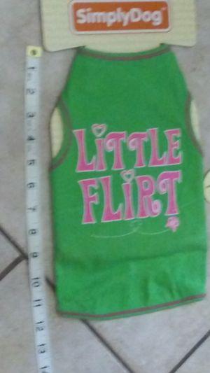 Little flirt unisex outfit for small medium sized dog for Sale in Phoenix, AZ