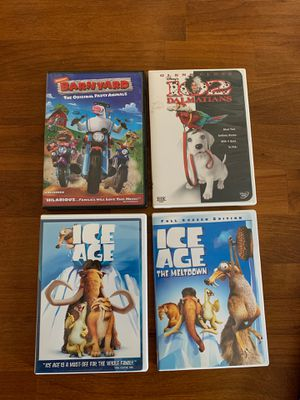 Five children's DVDs for Sale in Beaverton, OR