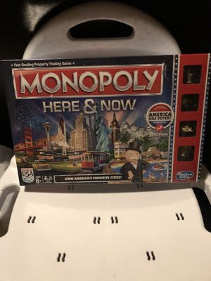 New Monopoly Here and Now Board Game (Still Sealed Never Opened) for Sale in Auburndale, FL