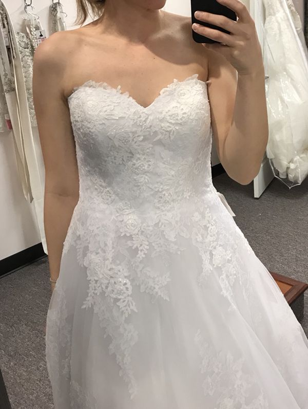 Pronovias Fabiela Wedding Dress Size 6-8