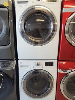 Kenmore Front Load Washer And Electric Dryer Set Used In Good Condition With 90day's Warranty for Sale in Washington,  DC