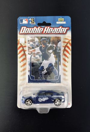 Russell Martin LA Los Angeles Dodgers MLB Baseball UpperDeck Double Header Collectible Die Cast Toy Car with Trading Card - BRAND NEW!! for Sale in Citrus Heights, CA