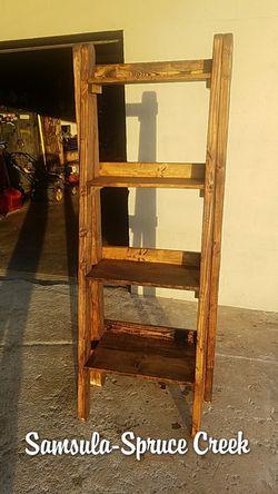 Custom ladder shelf for Sale in New Smyrna Beach,  FL