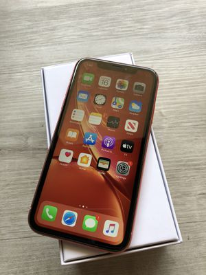 IPHONE XR 64GB Coral Factory Unlocked Any Carrier for Sale in San Diego, CA