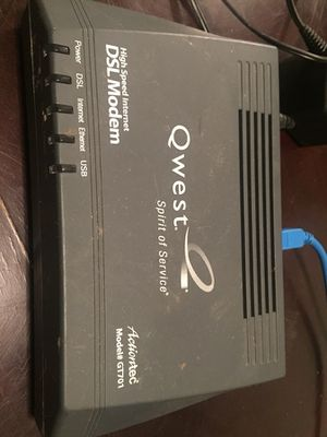 Quest DSL modem for Sale in Westminster, CO