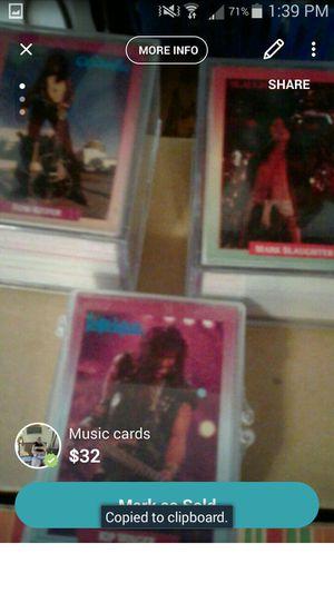 Music trade cards for Sale in Pekin, IL