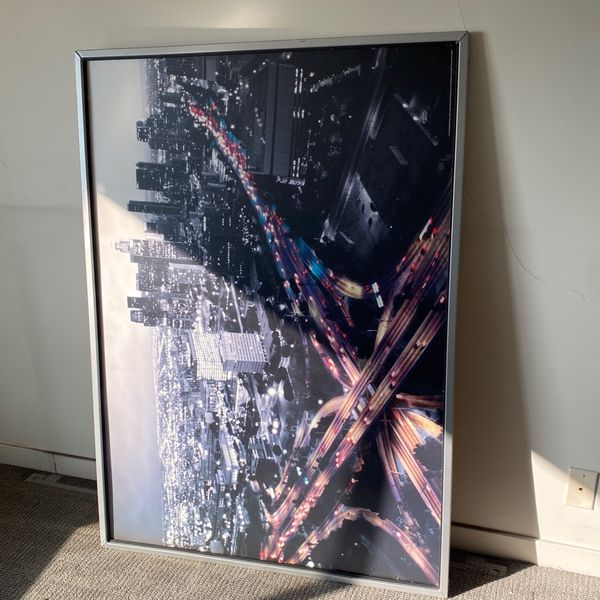 Los Angeles City Framed Poster
