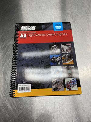 MAT - A9 Light Vehicle Diesel Engines ASE Study Guide for Sale in Plano, TX