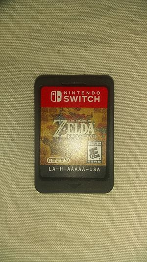 The legend of Zelda Nintendo switch game for Sale in Lake Worth, FL