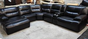Beckett 6pc Italian leather sectional sofa for Sale in Decatur, GA