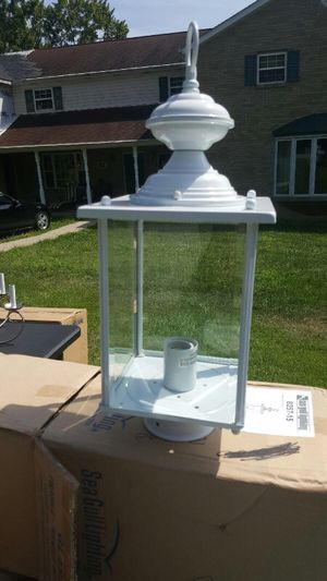 BRAND NEW YARD POST LIGHTS for Sale in Pittsburgh, PA
