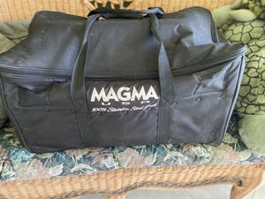 Magma Products Catalina 2 Classic, Gourmet Series Gas Grill, Multi, One Size (Gently Used Three times) Includes canvas carrying case for Sale in Boca Raton, FL