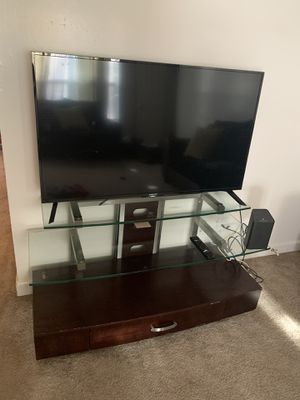 55 Inch Smart Tv With Stand for Sale in Virginia Beach, VA